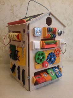 Купить Бизидом - бизиборд дом в интернет магазине на Ярмарке Мастеров