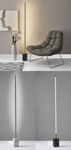 Add scale and drama to any room with modern floor lamps that complement your interior decor. #floorlightingideas #lampslivingroom #lampsliving #lamp #modernlampslivingroom #modernlampsbedroom #standinglampslivingroom #livingroomlightinglamps #lampbedroomfloor #floorlamp #livingroomlampsfloor #floorlampslivingroom #lampsbedroomfloor #lampslivingroomfloor #coollamps #wallwasher Minimalist Home, Floor Lamp, Lamp, Home Goods Decor, Flooring, Cool Floor Lamps, Modern Lamps Living Room, Modern Lamps Bedroom, Bedroom Flooring