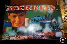 Marklin trains ( they were my brother's, but I loved them too)