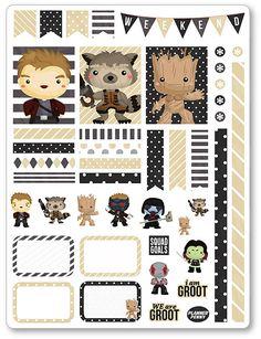 Héroes de la galaxia decoración Kit / extensión semanal