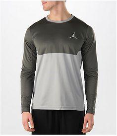 Jordan Men's Air Flight Shooting Long-Sleeve T-Shirt Jordan 2016, Jordans, Athletic, Long Sleeve, Sleeves, Mens Tops, T Shirt, Jackets, Fashion
