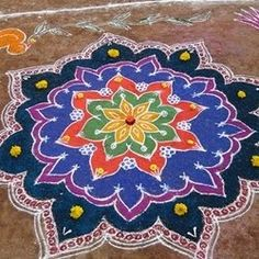 Kolam is an art form of design or pattern has drawn daily with rice flour on the floor with bare fingers using set of dots. Kolam is one of the...