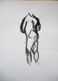 Pencil and ink  © C. Ulrikson