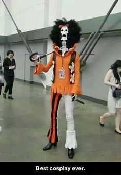 Brook One Piece Cosplay