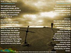 Why is God so quiet?  ¿Por qué es Dios tan callado?  http://www.biblegateway.com/passage/?search=1%20kings%2019:9-21