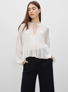 Wilfred COURBON BLOUSE | Aritzia
