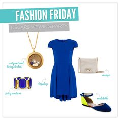 {Fashion on Friday} We ♥ the Oscar's, so we searched the internet, high and low, to find the perfect Oscar Viewing Party outfit! What will you be wearing?      www.sparkle.origamiowl.com