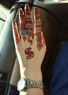 ❤Farha Noor✔ Modern Mehndi Designs, Mehndi Design Pictures, Bridal Henna Designs, Unique Mehndi Designs, Mehndi Designs For Fingers, Dulhan Mehndi Designs, Beautiful Mehndi Design, Latest Mehndi Designs, Mehandi Designs