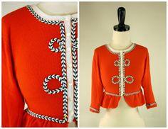 Grosgrain: Embellish Knit Month: Day 14