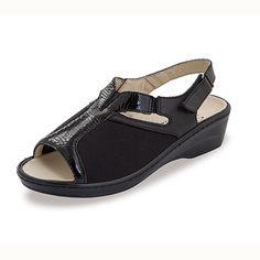 Sandalias elásticas Dana Negro