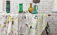 Romo prints for Spring; love the magnolia blooms