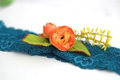 bentita din dantela albastra (CreativeToday.breslo.ro)