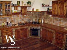 épített rusztikus konyha - Google keresés