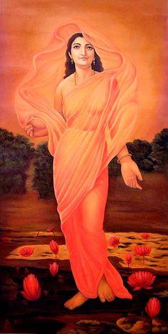 Usha, the Goddess of Dawn