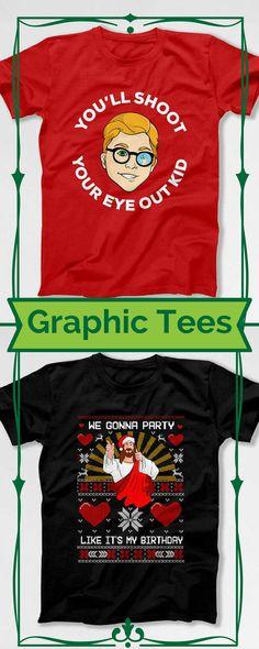 Graphic Tee | Mens Fashion | Fashion | Christmas | Tee Shirt | Women Shirts | Holiday Shirts | #aff #fashion  #style #shopping