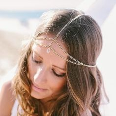 Coco Jewel chain headpiece