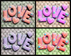 Love Cookies ♥ Valentines Cookies
