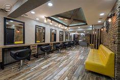 Scaune de coafor profesionale si rezistente pentru saloane moderne Conference Room, Studio, Modern, Table, Furniture, Home Decor, Ideas, Trendy Tree, Decoration Home