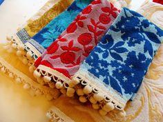 DIY Vintage hand towels