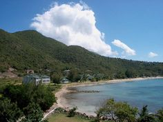 Oualie Bay located at Oualie in Nevis