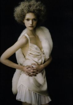 Gemma Ward by Paolo Roversi for W