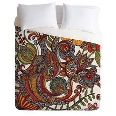 Valentina Ramos Paradise Bird Duvet Cover from DENY Designs. Saved to Home and Office. #comforter #bedding #design.