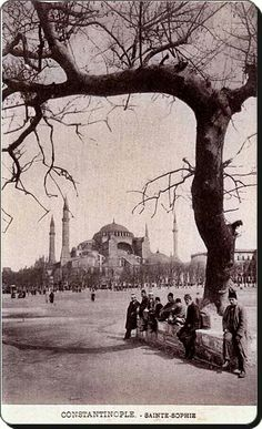 1900 Hagia Sophia in 1901 The German . - ismail 11 - - 1900 Hagia Sophia in 1901 The German . Hagia Sophia, Sainte Sophie, Istanbul Pictures, Ottoman Empire, Istanbul Turkey, Istanbul City, Historical Pictures, Old City, Greece Travel