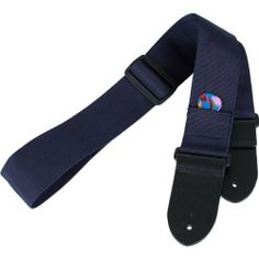 Protec Guitar Strap with Leather Ends and Pick Pocket, Blue by Pro Tec. $5.66. From the Manufacturer                Protec's adjustable guitar strap features thick genuine leather ends, a handy pick pocket, and is made of high quality nylon.