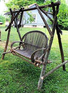 Willow Furniture #5 Swing and Stand by Justin Roberts
