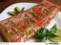 Tak to urcite vyzkousim I definitely try this to make! Slovak Recipes, Czech Recipes, Ethnic Recipes, Appetizer Sandwiches, Appetizers, Fresh Rolls, Healthy Snacks, Cabbage, Good Food