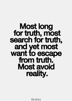 truth & reality