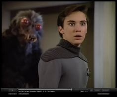 DO NOT freak okay?  There 'may' be a bug monster behind you. - Oh Wesley Crusher... :)