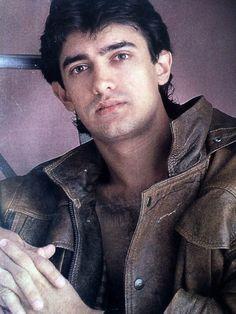 Aamir Khan in Brown Biker Leather Jacket