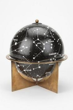 I've never really seen the appeal of globes...until now. #celestialnerd