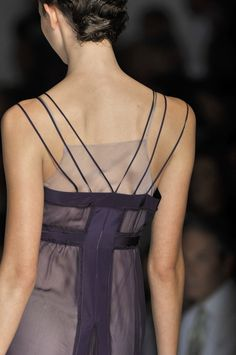 A is for Alberta Ferretti: Milan Fashion Week Spring 2010.