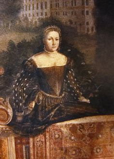 """""""Female portraits in front of landscapes"""", 1543-46, Moretto da Brescia (Palazzo Martinengo-Salvadego, Brescia)"""