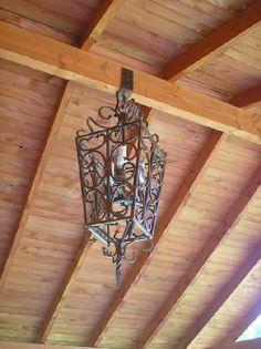 Fotos de photo9 lamparas en fierro forjado