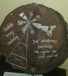Windpomp kuns Paper Flowers, Bring It On, Diy Projects, Afrikaans, Motivational, Image, Decor, Patience, Decoration