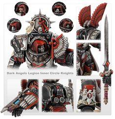 Warhammer 40k Figures, Warhammer 40k Miniatures, Warhammer 40000, Dark Angels 40k, Warhammer Tabletop, Lion, The Horus Heresy, Imperial Fist, Knight Art