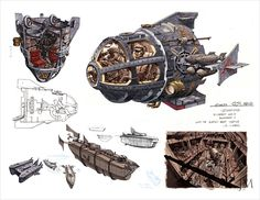 Jim Martin Concept Art and Illustration