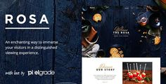 Check out this ultra effective ROSA V1.5.8 – AN EXQUISITE RESTAURANT WORDPRESS THEME and start creating restaurant based website on WordPress with ease.