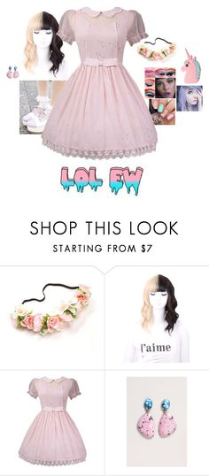 """""""Melanie Martinez Inspired"""" by hanakdudley ❤ liked on Polyvore featuring Missguided"""