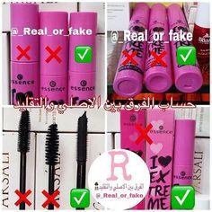 Reposted From Real Or Fake Get Regrann اسعدوني باللايك الله يسعدكم مسكرة ايسنس الورديه قبل فت Beauty Makeup Tutorial Learn Makeup Dry Skin Makeup