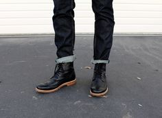 Can't beat jeans and boots // menswear