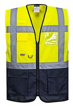 Cheap Portwest Hi Vis Executive / Manager Vest / Safetywear deals week