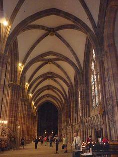 Strasburgo - Cattedrale - navata laterale