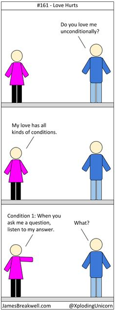 James Breakwell's Unbelievably Bad Webcomic: Love Hurts
