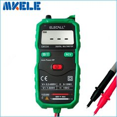 16.90$  Buy here - http://aliuyy.shopchina.info/go.php?t=32696955461 - mastech diagnostic-tool multimetro Free shipping Non-Contact Digital Multimeter DC AC Voltage Current Tester With Torch EM33A  #magazineonlinewebsite