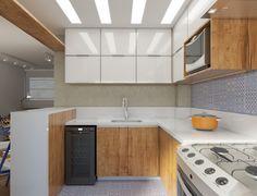 Apartamento no Leme, Rio de Janeiro por Tripper Arquitetura www.tripperarquitetura.com.br