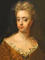 Hedvig Sofia of Sweden (1681-1708), married Fredrik IV of Holstein-Gottorp 1698. Portrait by David von Krafft.